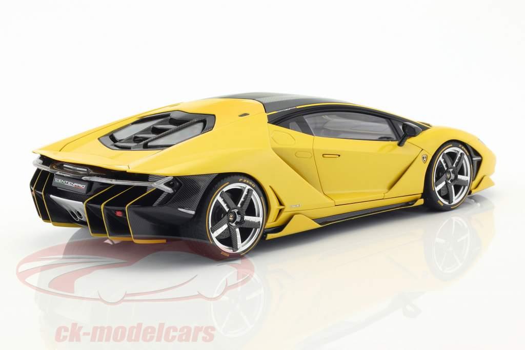 Lamborghini Centenario LP770-4 Baujahr 2017 orion gelb metallic 1:18 AUTOart