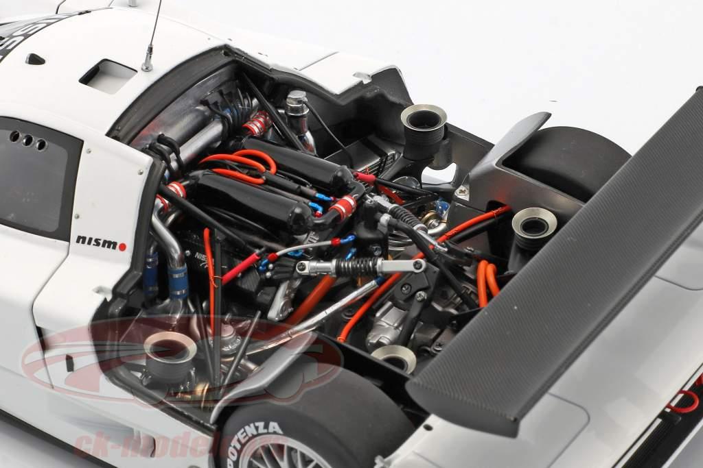 Nissan R390 GT1 LeMans Opførselsår 1998 hvid 1:18 AUTOart