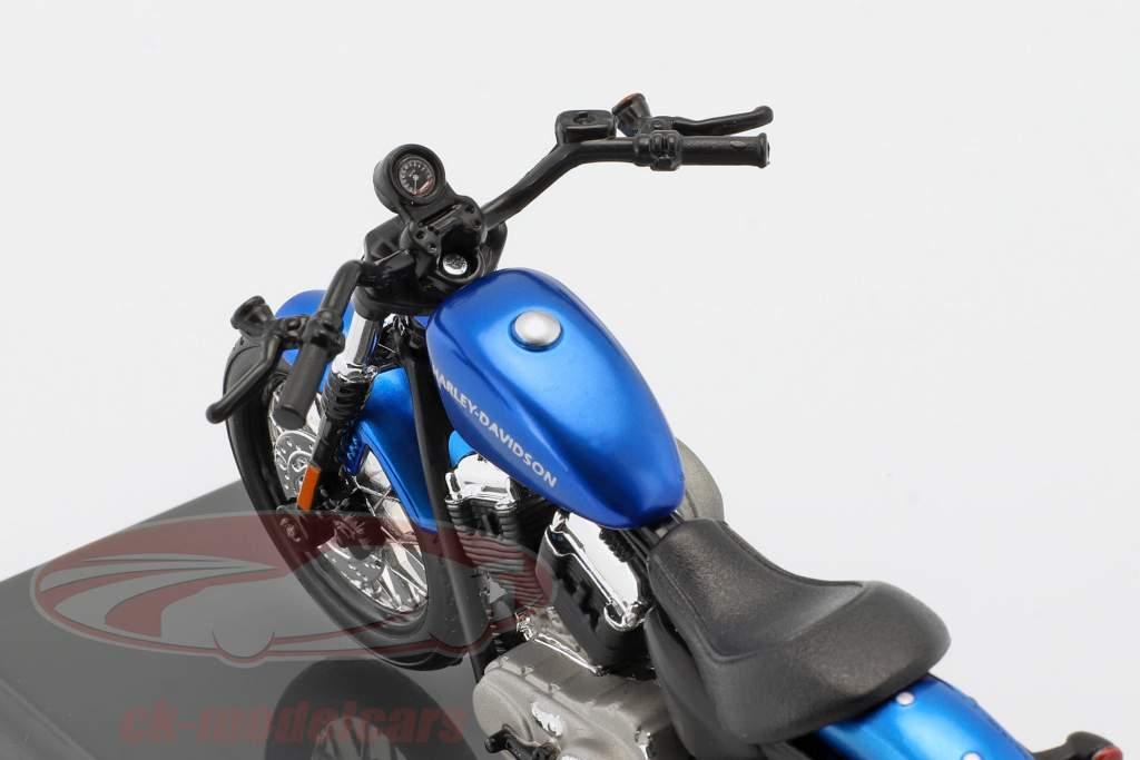 Harley-Davidson XL 1200N Nightster Opførselsår 2012 blå 1:18 Maisto