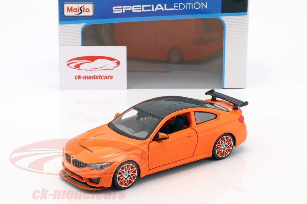 BMW M4 GTS appelsin 1:24 Maisto