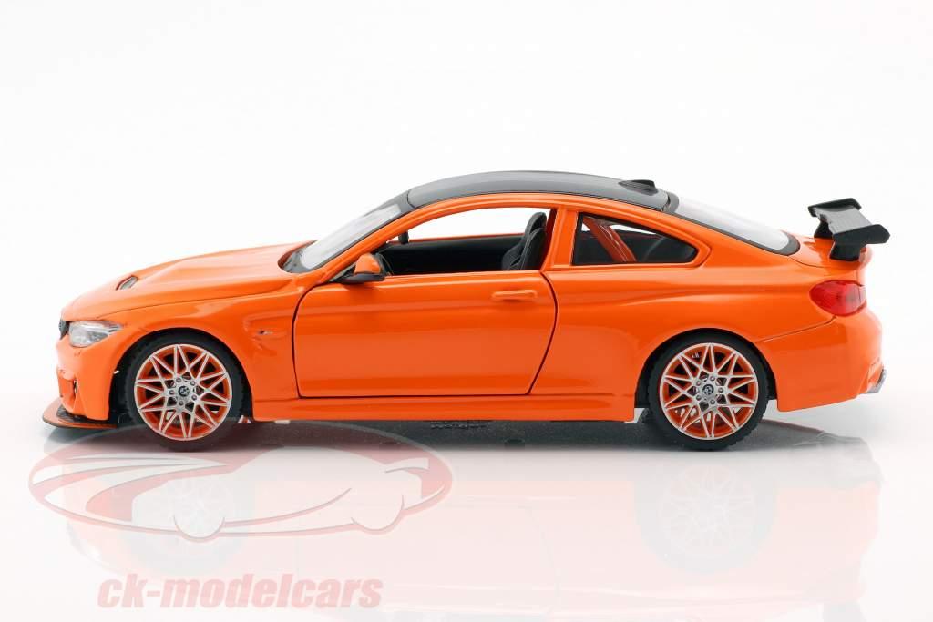 BMW M4 GTS arancione 1:24 Maisto