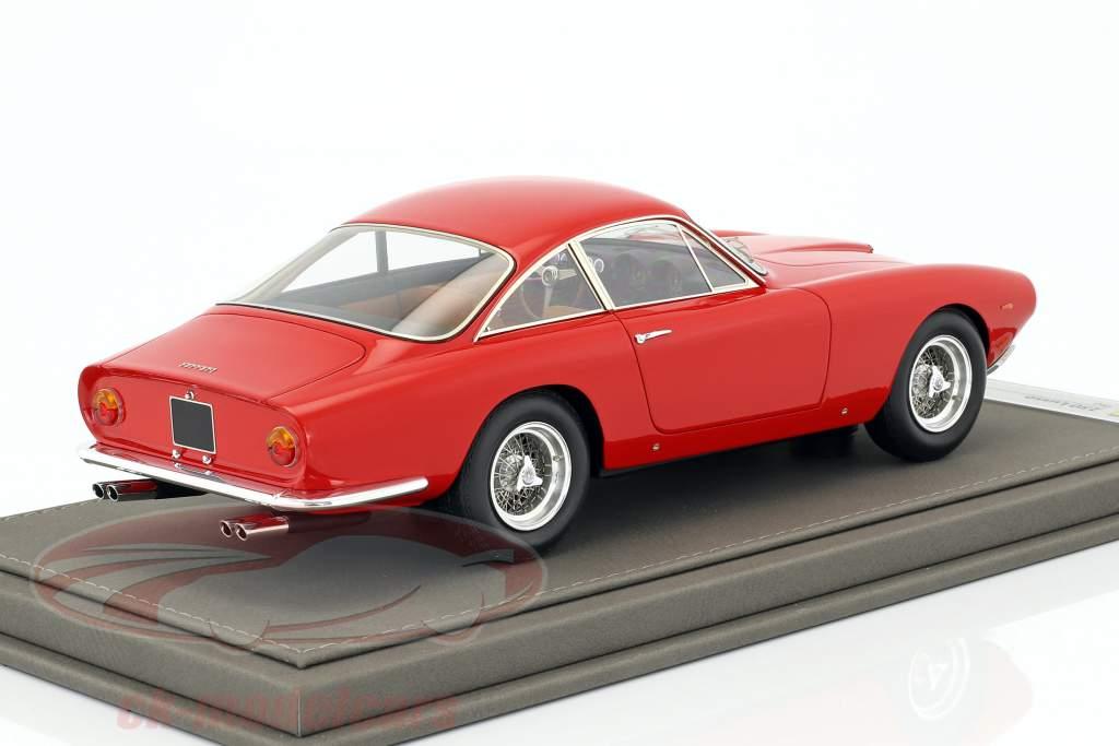 Ferrari 250 Lusso year 1963 red 1:18 BBR