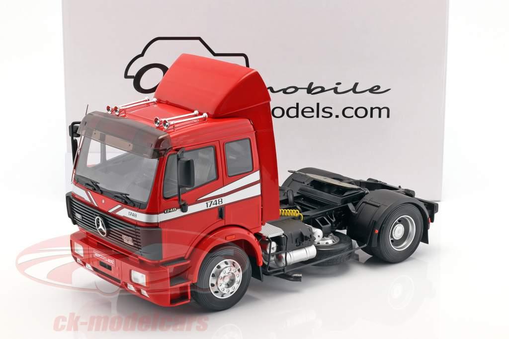 Mercedes-Benz SK 1748 trattore anno di costruzione 1990 splendore rosso 1:18 OttOmobile
