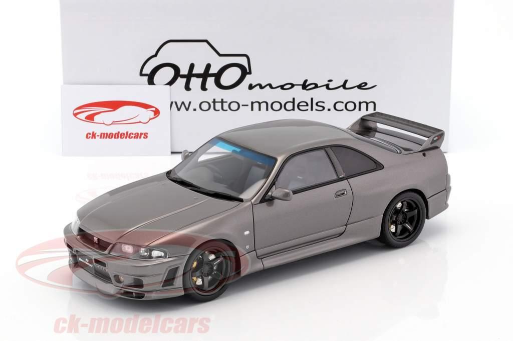 Nissan Skyline GT-R (BCNR33) Grand Touring Car by Omori Factory 2016 gris 1:18 OttOmobile