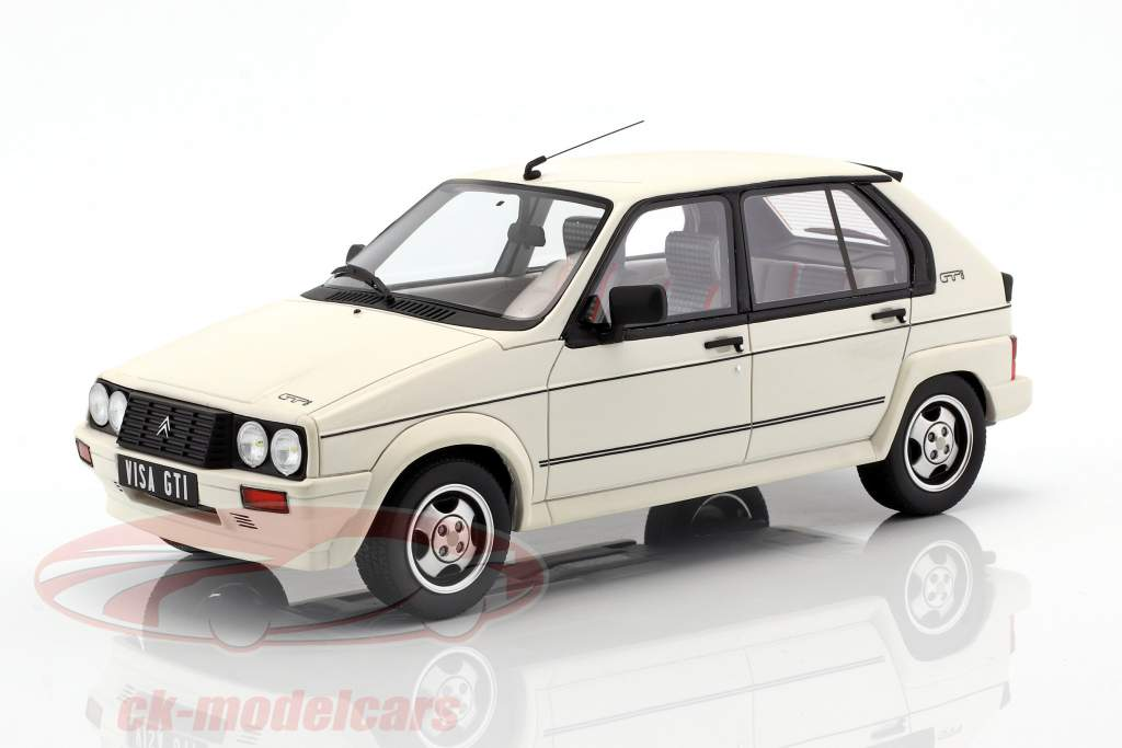 Citroen Visa GTI année de construction 1984 blanc 1:18 OttOmobile