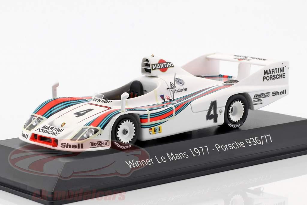 Porsche 936/77 #4 Winnaar 24h LeMans 1977 Martini Racing 1:43 Spark