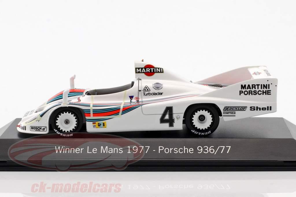 Porsche 936/77 #4 Ganador 24h LeMans 1977 Martini Racing 1:43 Spark