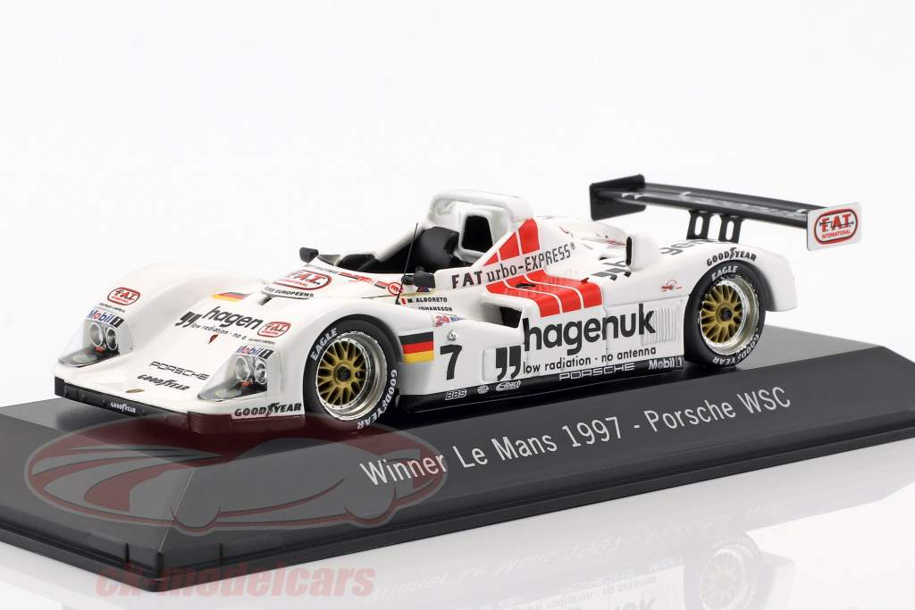 Porsche 935/76 WSC #7 Gagnant 24 LeMans 1997 Joest Racing 1:43 Spark