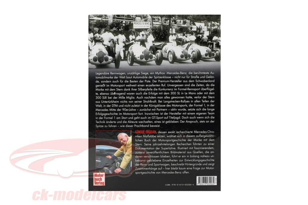 Livro: Mercedes-Benz Corrida e Desporto automóvel desde 1894 de Günter Engelen
