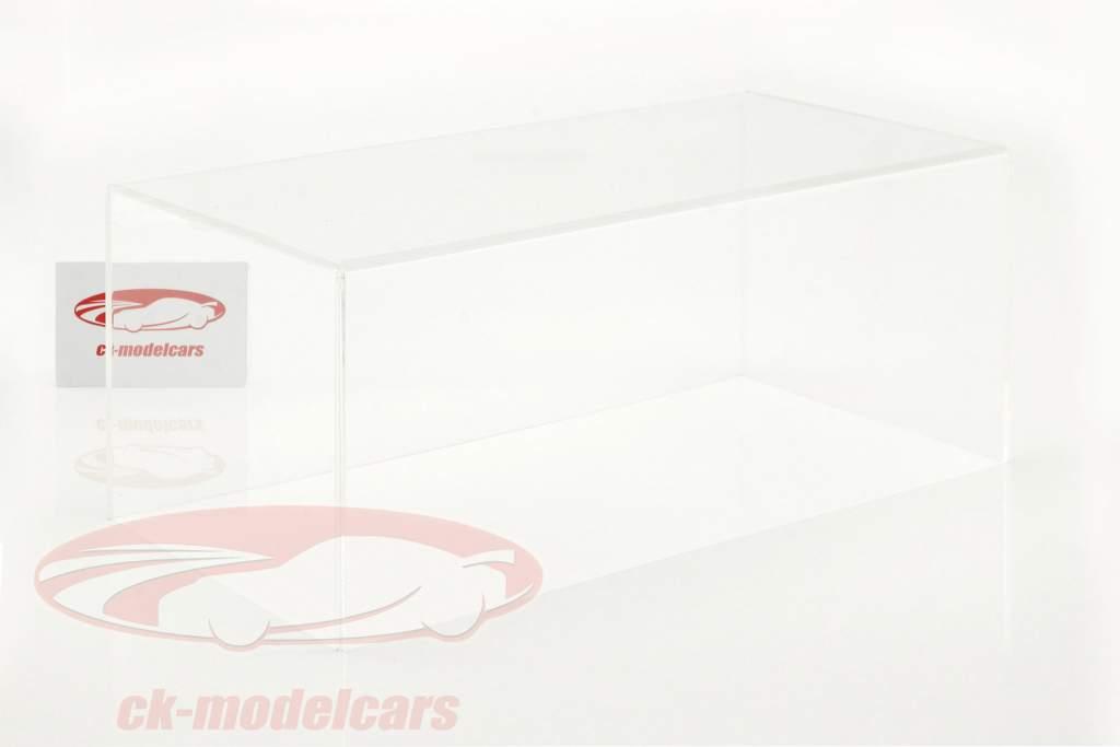 hoog kwaliteit acryl showcase dekking voor modelauto's in schaal 1:18 Tecnomodel
