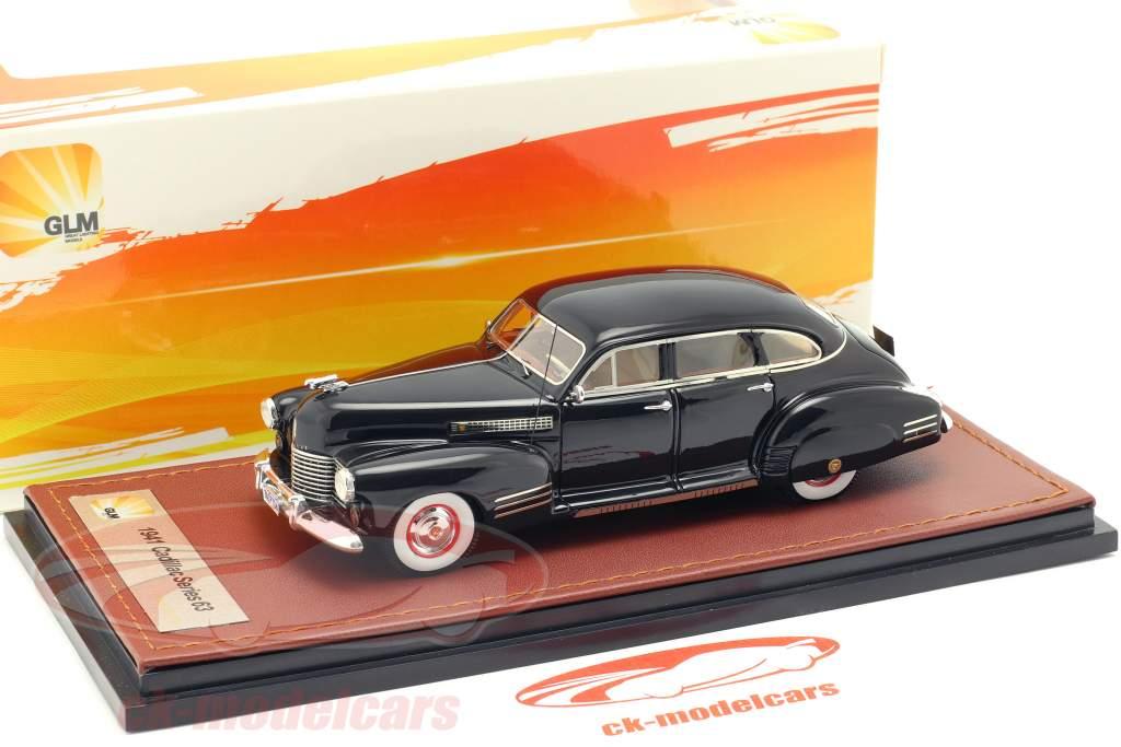 Cadillac Series 63 Opførselsår 1941 sort 1:43 GLM