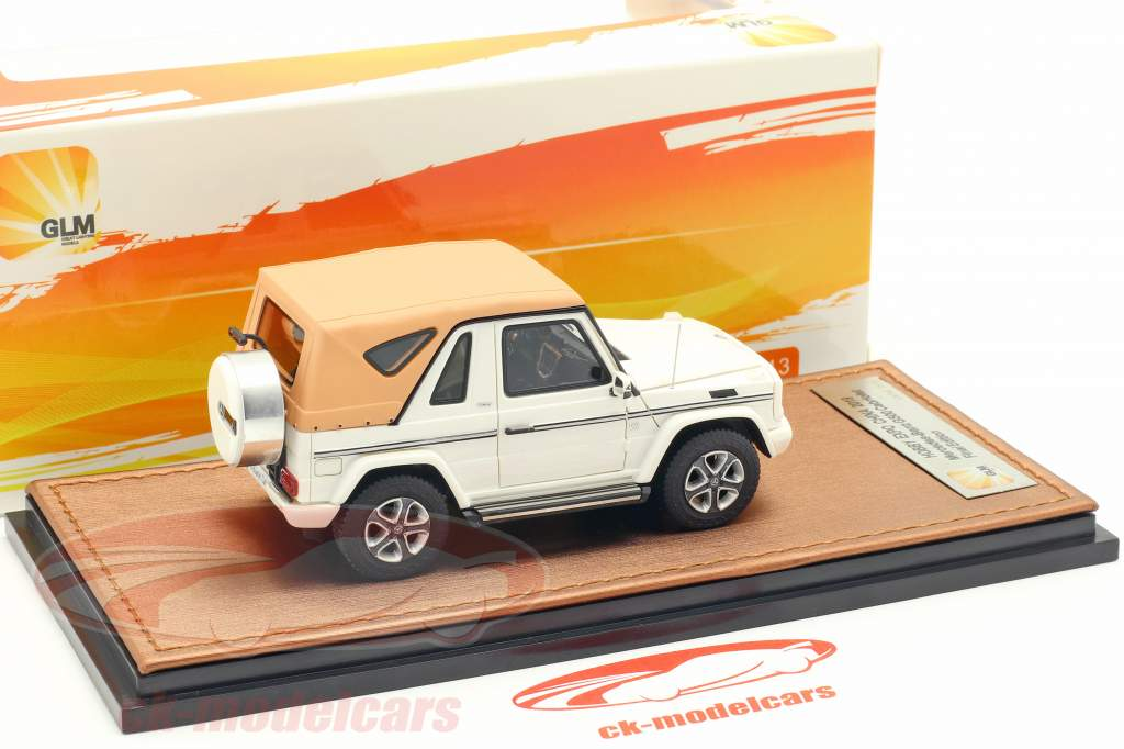 Mercedes-Benz G500 cabriolet Closed Top Final Edition 2013 bianco 1:43 GLM