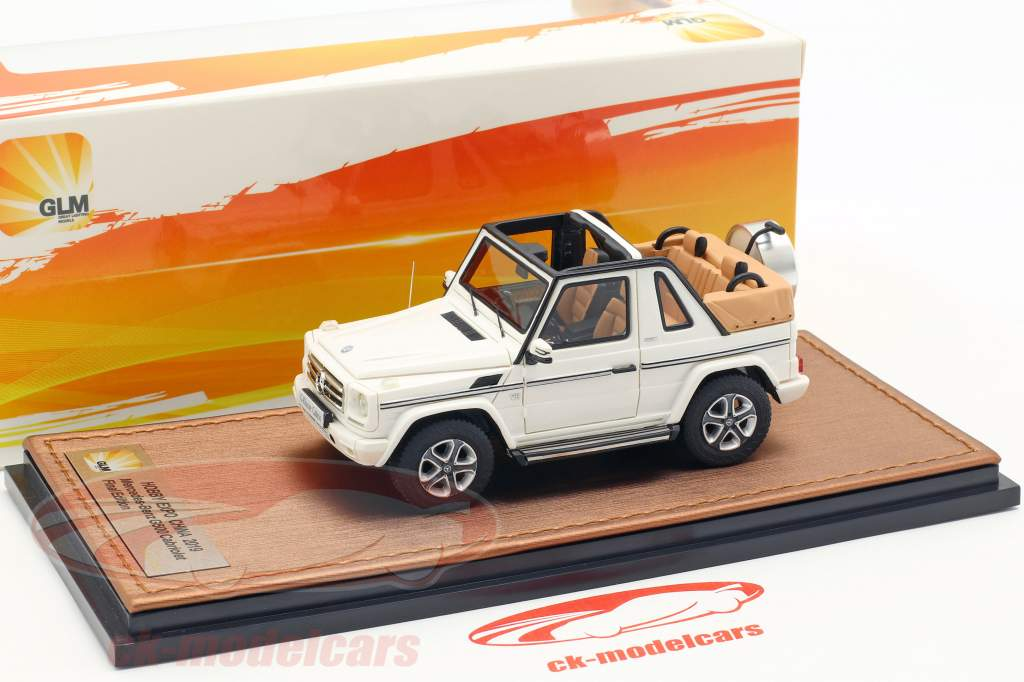 Mercedes-Benz G500 cabriolet Open Top Final Edition 2013 bianco 1:43 GLM