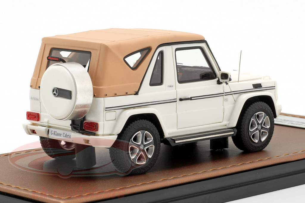 Mercedes-Benz G500 Cabriolet Closed Top Final Edition 2013 wit 1:43 GLM
