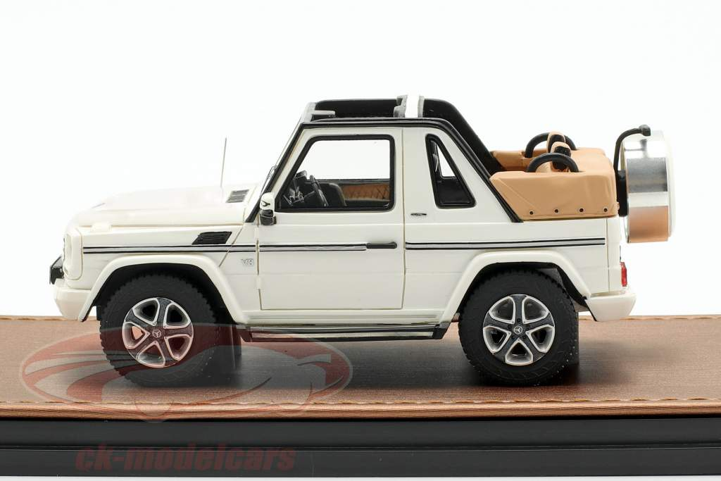 Mercedes-Benz G500 cabriolé Open Top Final Edition 2013 branco 1:43 GLM