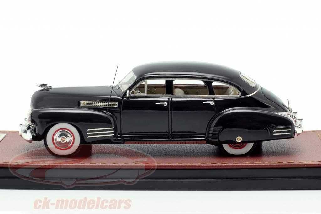 Cadillac Series 63 ano de construção 1941 preto 1:43 GLM