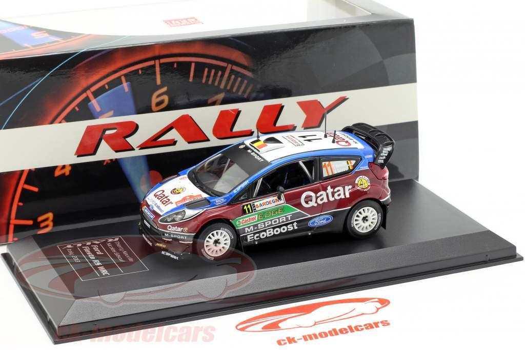 Ford Fiesta RS WRC #11 2e Rallye Italië Sardinië 2013 Neuville, Gilsoul 1:43 Direkt Collections