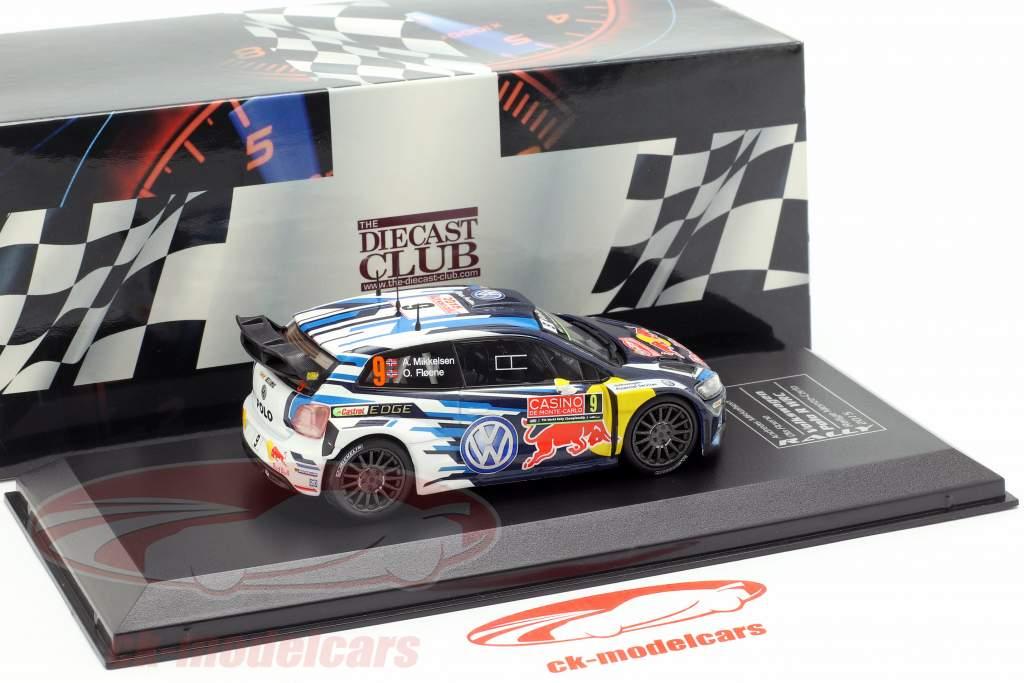 Volkswagen VW Polo R WRC #9 tercero Rallye Monte Carlo 2015 Mikkelsen, Floene 1:43 Direkt Collections