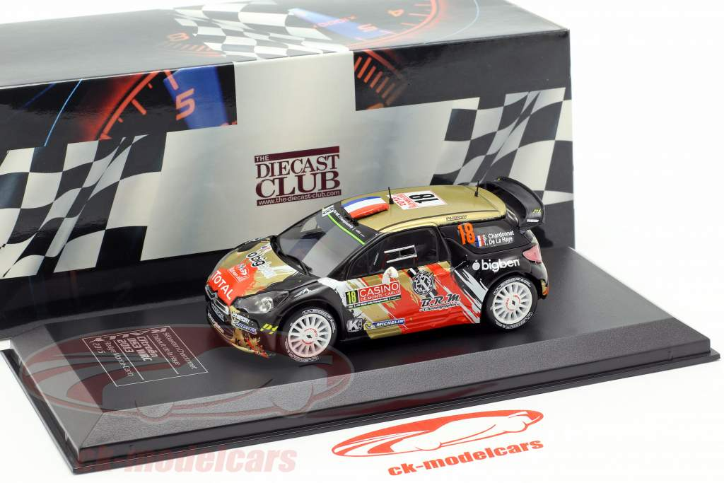 Citroen DS3 WRC #18 Rallye Monte Carlo 2015 Chardonnet, de la Haye 1:43 Direkt Collections