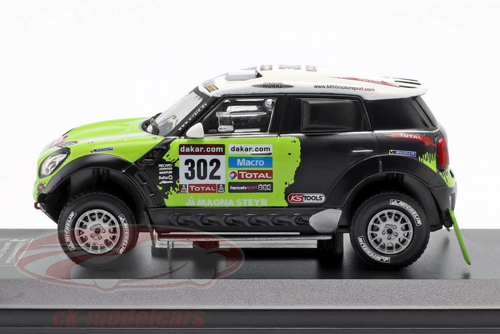 Mini All4 Racing #302 Vinder Rallye Dakar 2013 Peterhansel, Cottret 1:43 Direkt Collections