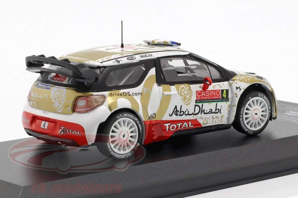 Citroen DS3 WRC #4 Rallye Monte Carlo 2015 Loeb, Elena 1:43 Direkt Collections