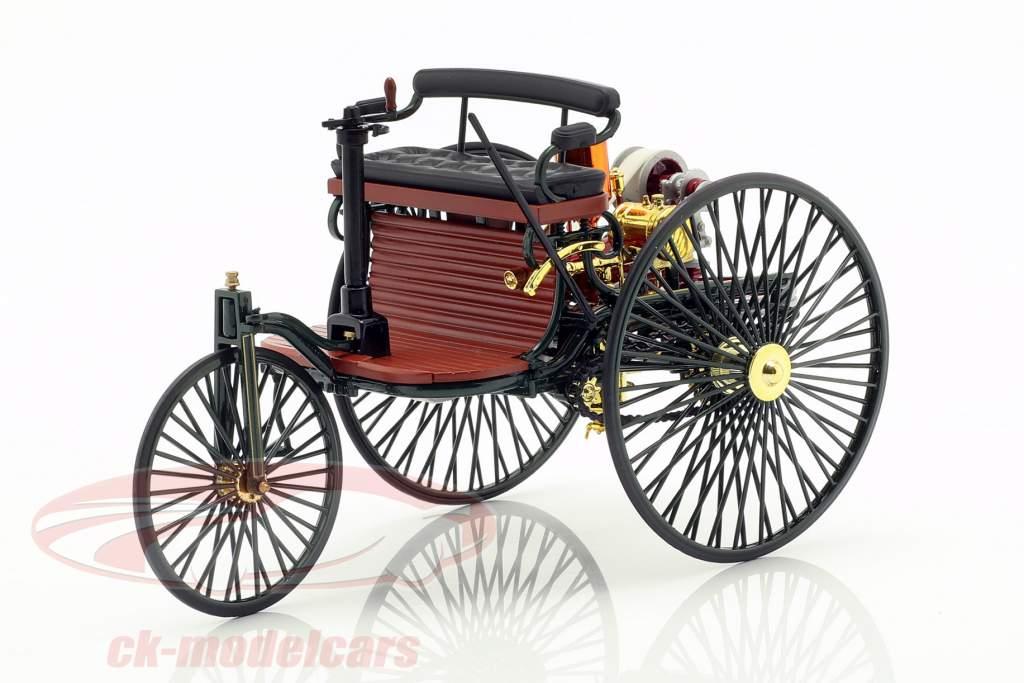 Mercedes-Benz Patent Motorwagen built in 1886 green 1:18 Norev