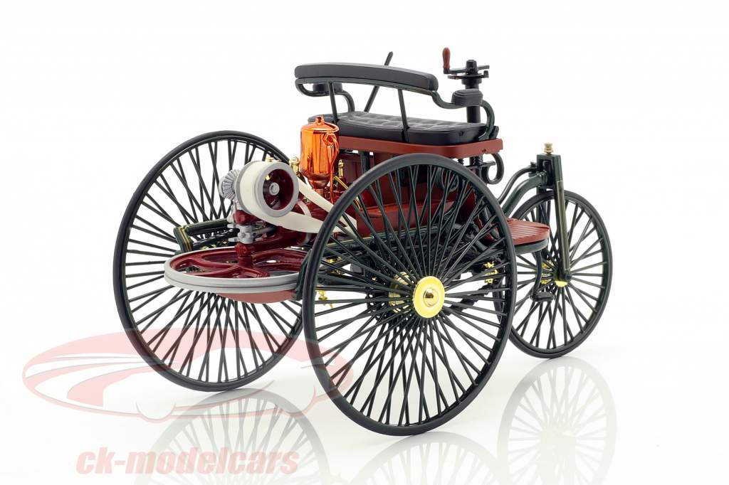 Mercedes-Benz Patent Motorwagen costruito nel 1886 verde 1:18 Norev