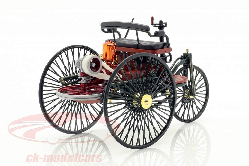 Mercedes-Benz Patent Motorwagen uit 1886 groen 1:18 Norev