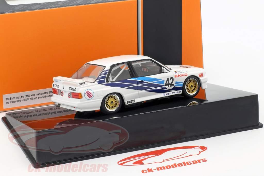 BMW M30 E30 #42 Touring Car VM Dijon 1987 CiBiEmme Cecotto, Brancetelli 1:43 Ixo