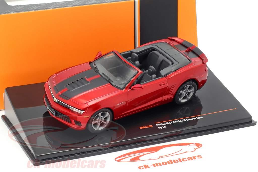 Chevrolet Camaro Convertible anno di costruzione 2014 porpora metallico 1:43 Ixo