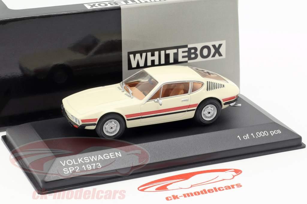 Volkswagen VW SP2 year 1973 cream / red 1:43 WhiteBox