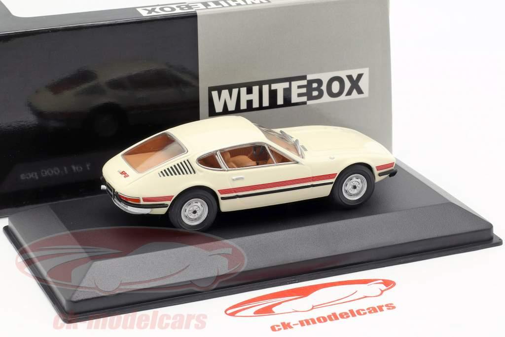 Volkswagen VW SP2 Opførselsår 1973 creme / rød 1:43 WhiteBox