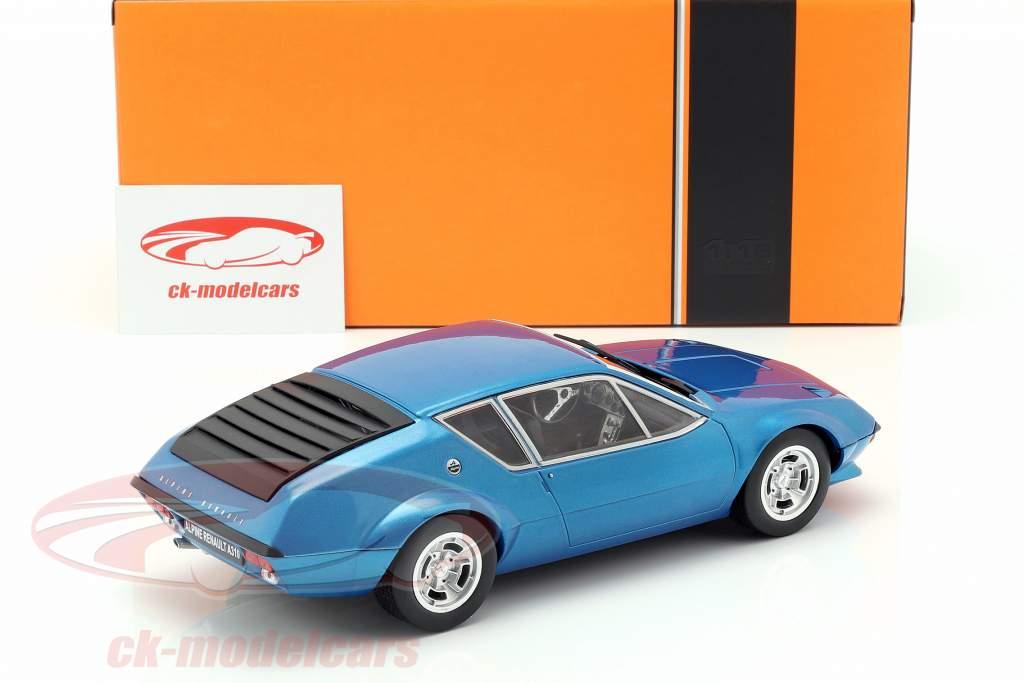 Alpine Renault A310 anno di costruzione 1974 blu metallico 1:18 Ixo