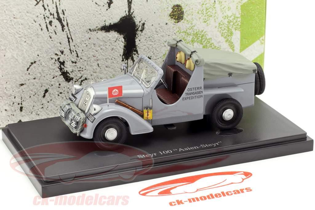 Steyr 100 Asien-Steyr anno di costruzione 1934 grigio 1:43 AutoCult