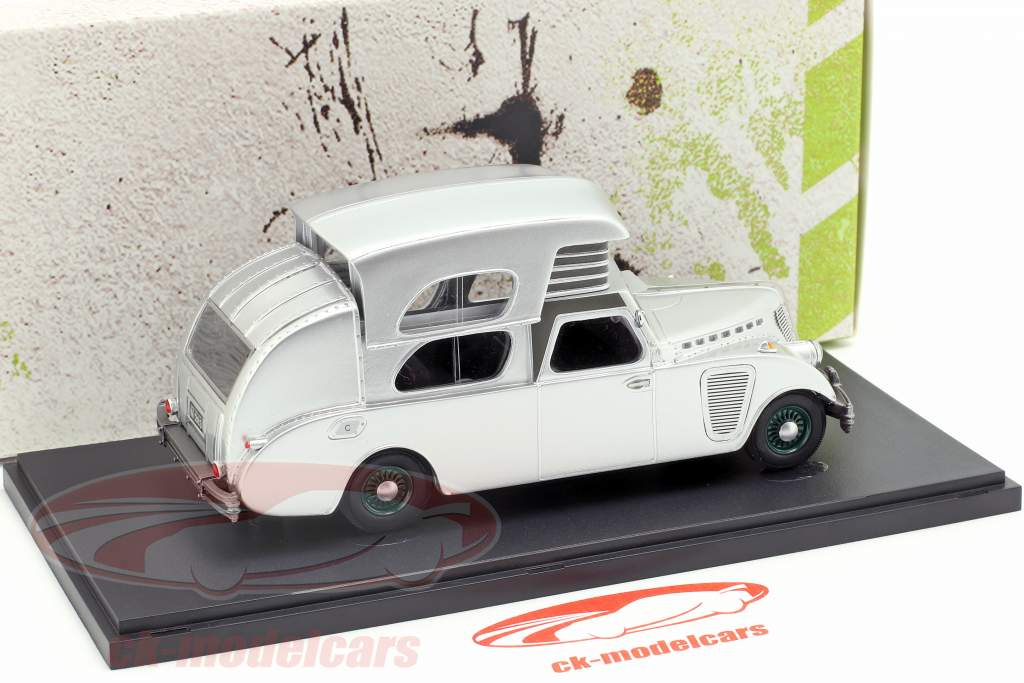Thompson House Car año de construcción 1934 plata 1:43 AutoCult