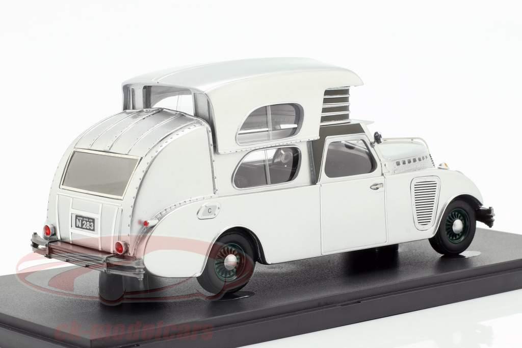 Thompson House Car year 1934 silver 1:43 AutoCult