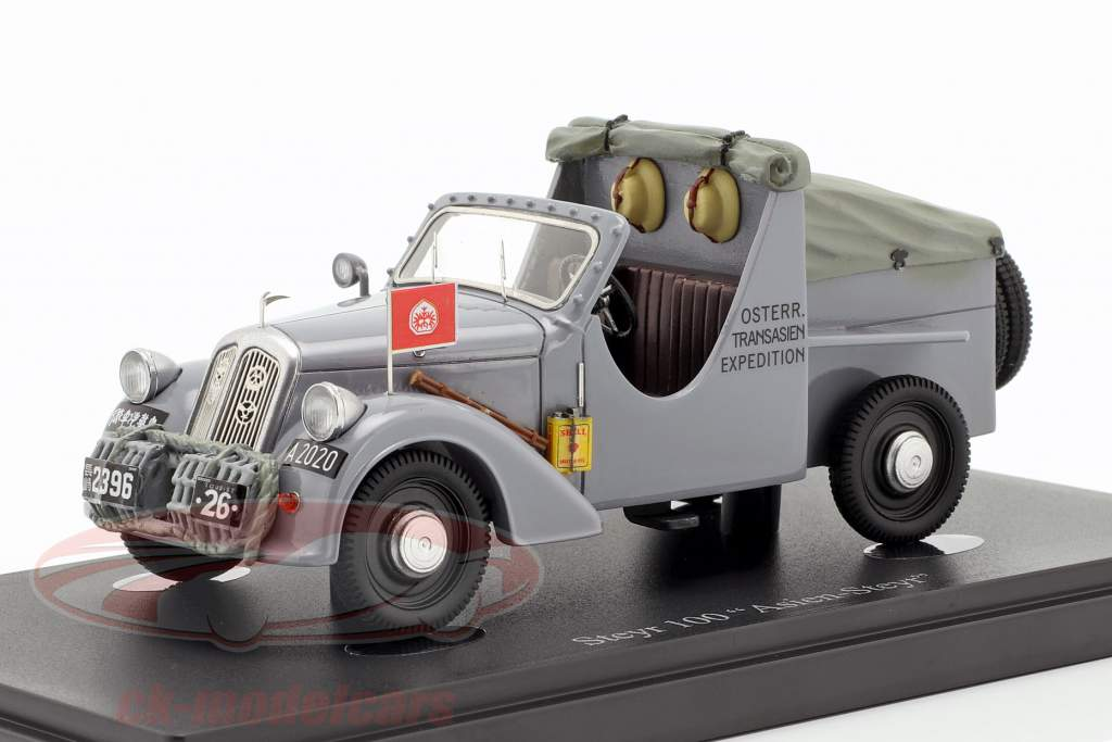 Steyr 100 Asien-Steyr Bouwjaar 1934 grijs 1:43 AutoCult