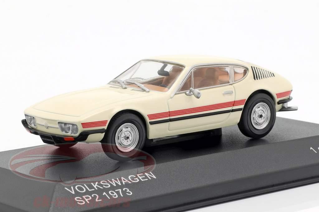 Volkswagen VW SP2 año de construcción 1973 crema / rojo 1:43 WhiteBox