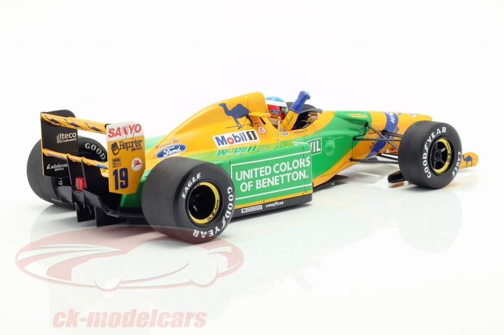 M. Schumacher Benetton B192 #19 tercero alemán GP fórmula 1 1992 1:18 Minichamps