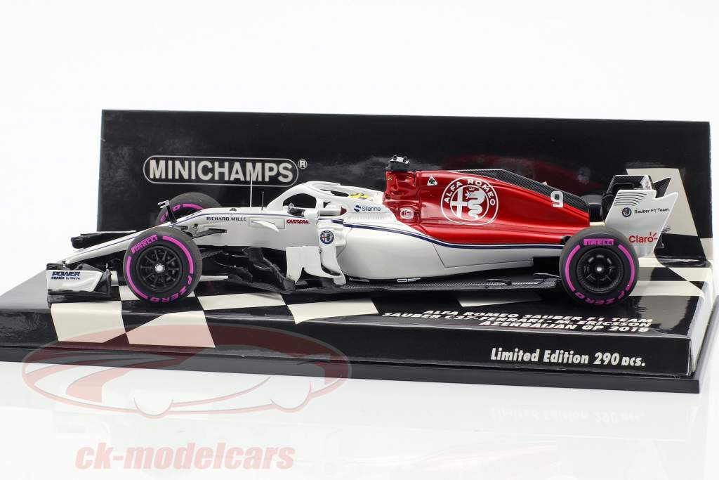 Marcus Ericsson Sauber C37 #9 Azerbaijan GP formula 1 2018 1:43 Minichamps