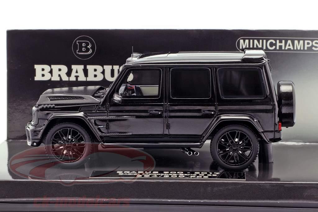 Brabus 900 basado en Mercedes-Benz G 65 año de construcción 2017 negro 1:43 Minichamps
