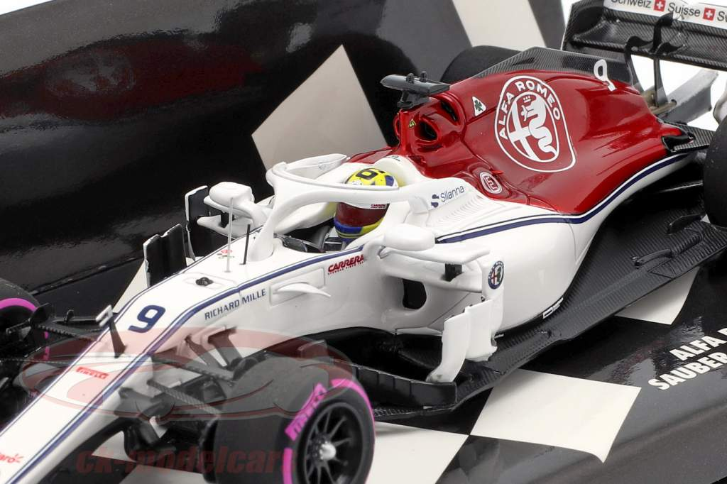 Marcus Ericsson Sauber C37 #9 Azerbaijão GP fórmula 1 2018 1:43 Minichamps