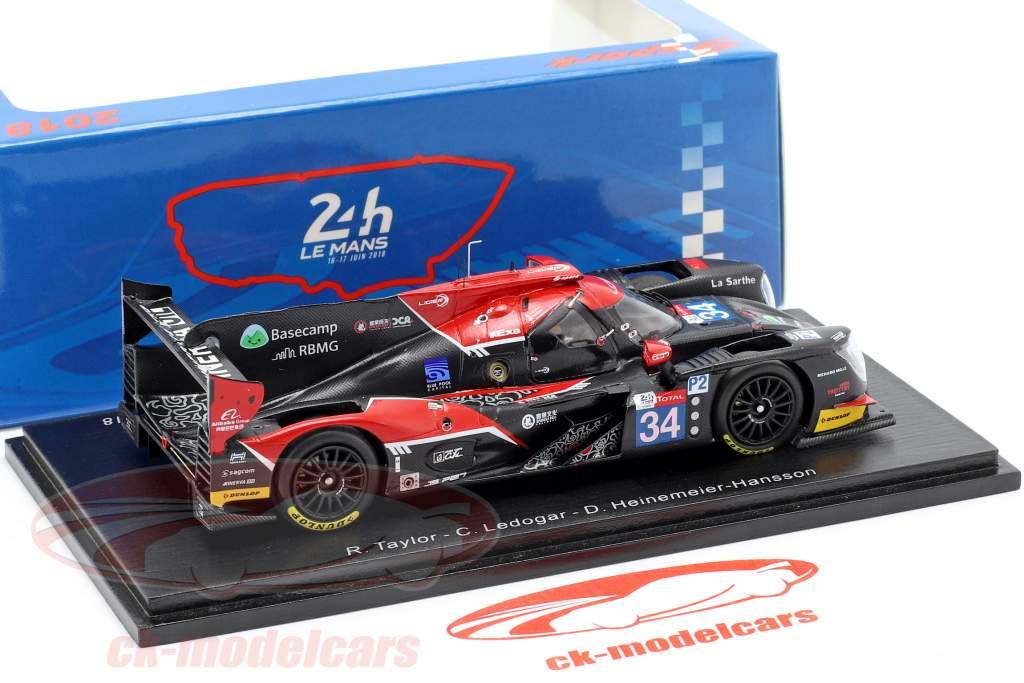 Ligier JS P217 #34 24h LeMans 2018 Taylor, Ledogar, H.-Hansson 1:43 Spark