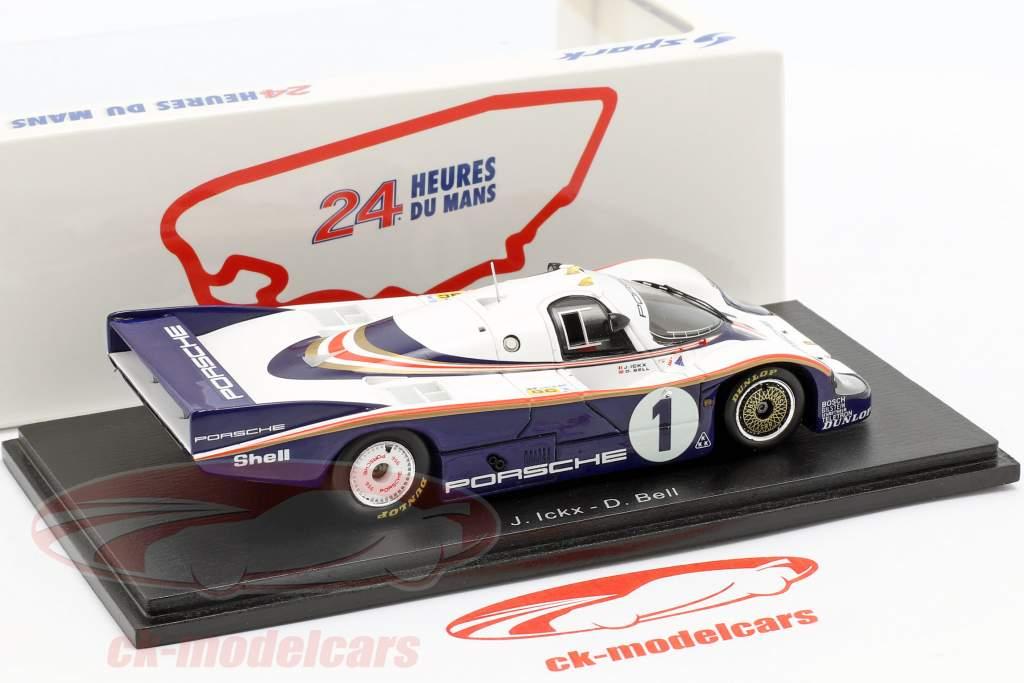 Porsche 956 #1 vincitore 24h LeMans 1982 Ickx, Bell 1:43 Spark