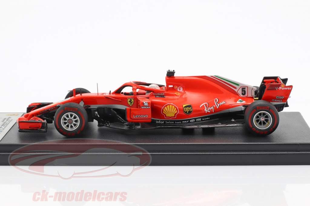 S. Vettel Ferrari SF71H #5 50 ° GP vittoria Canada GP F1 2018 1:43 LookSmart