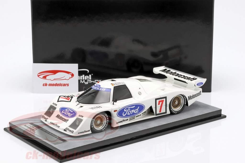 Ford C100 #7 1000km Nürburgring 1982 Winkelhock, Ludwig 1:18 Tecnomodel