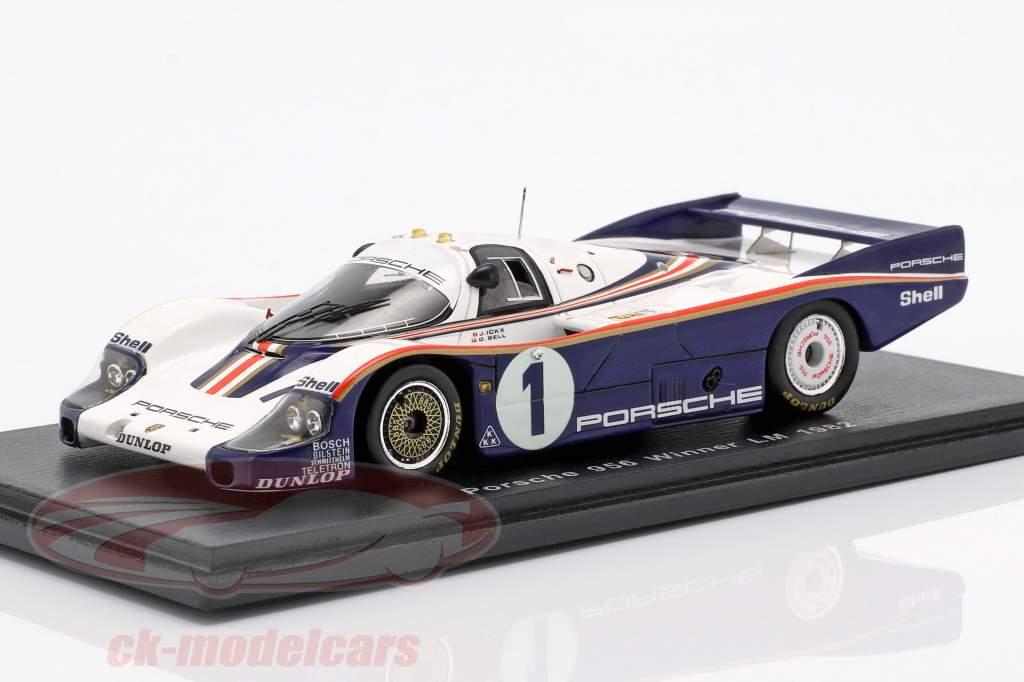 Porsche 956 #1 Vinder 24h LeMans 1982 Ickx, Bell 1:43 Spark