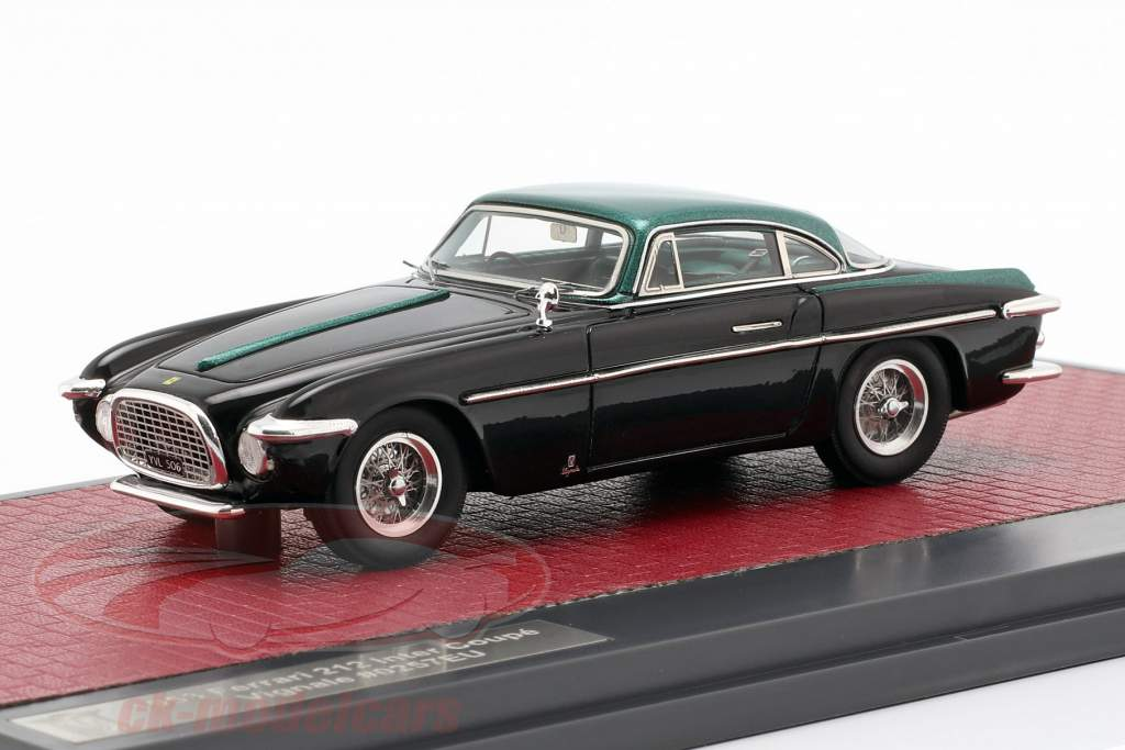 Ferrari 212 Inter Coupe Vignale year 1953 black / green metallic 1:43 Matrix