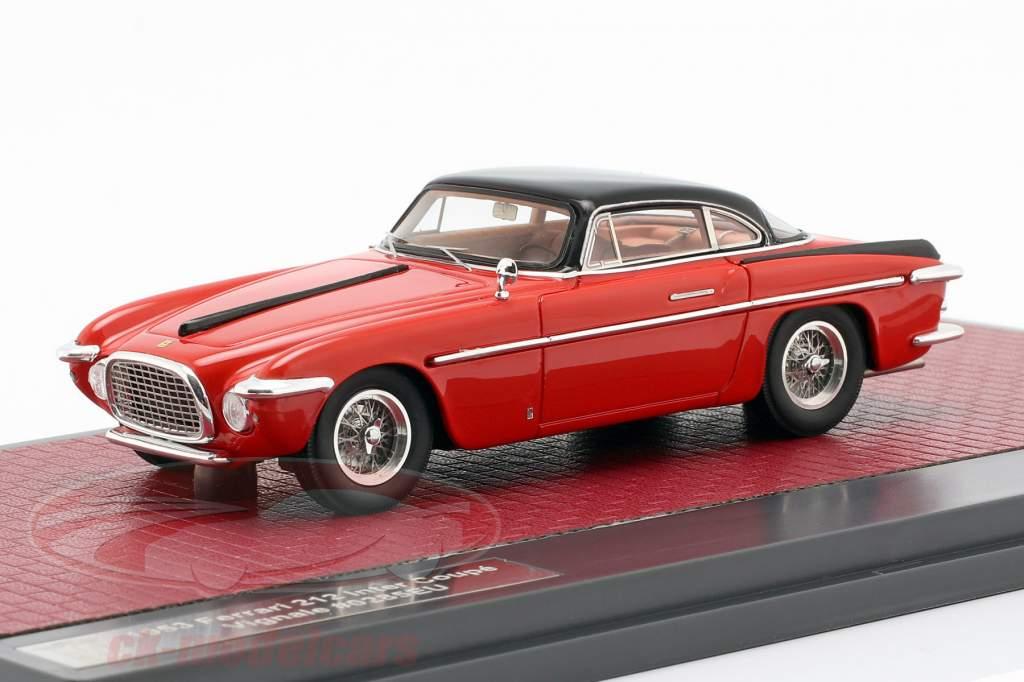 Ferrari 212 Inter Coupe Vignale Baujahr 1953 rot / schwarz 1:43 Matrix