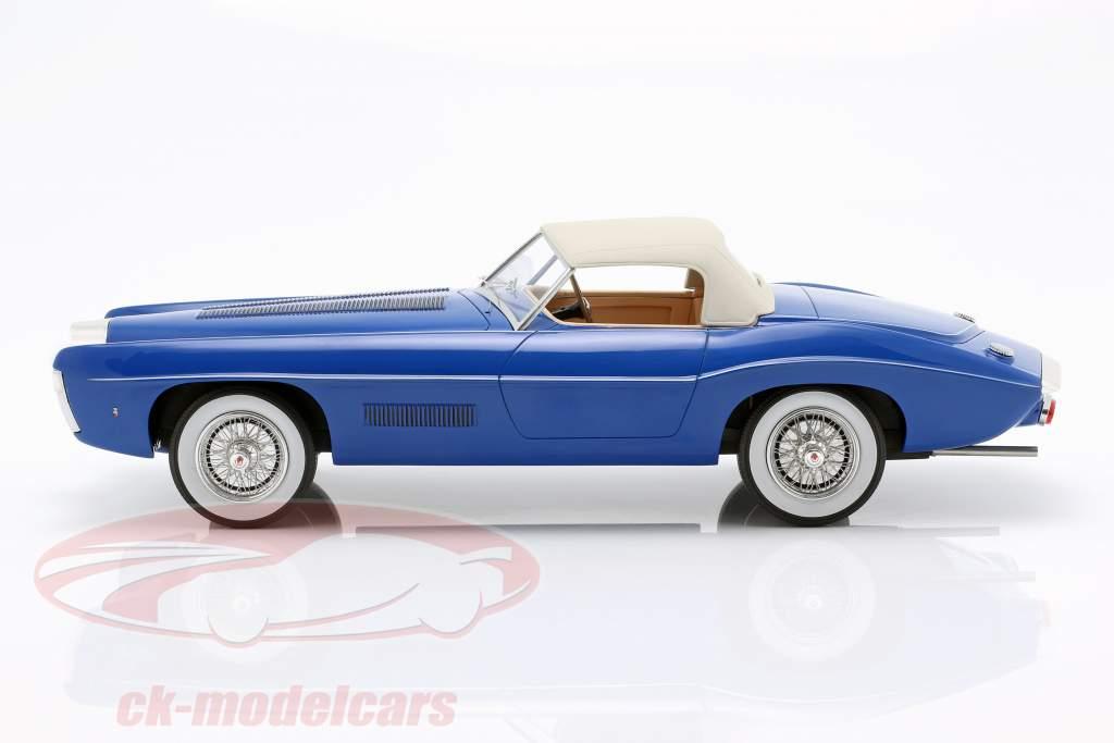 Bugatti T101C Exner-Ghia Closed Top année de construction 1966 bleu 1:18 Matrix